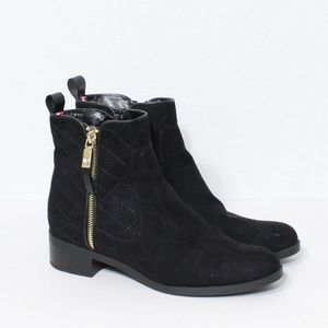 tommy hilfiger ankle booties